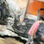 ट्रक का टायर फटने से हादसा: बस-ट्रक में भिड़ंत, दो जिंदा जले, आग लगते ही शीशे तोड़कर लोगों को बस से बाहर निकाला, 3 की मौत